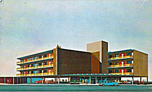 Malibu Motel Atlantic City  New Jersey Postcard p23512 (Image1)