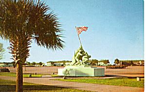 Iwo Jima Monument,Parris Island South Carolina p23545 (Image1)