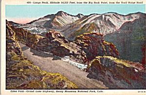 Longs Peak, Rocky Mountain National Park (Image1)