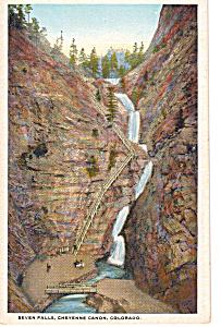 Seven Falls Cheyenne Canon Colorado p23617 (Image1)