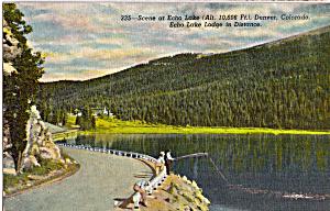 Echo Lake near Denver Colorado p23618 (Image1)