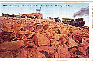 Cog Railway Pikes Peak Colorado p23623 (Image1)