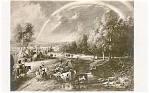 Rubens Landschatt mit Regenbogen Postcard p2362 (Image1)