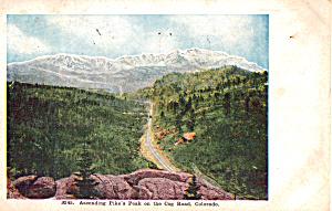 Cog Railway Pikes Peak Colorado p23643 (Image1)