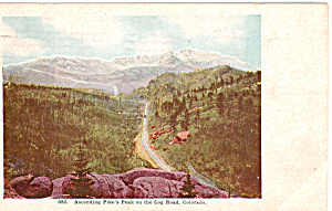Cog Railway Pikes Peak Colorado p23660 (Image1)
