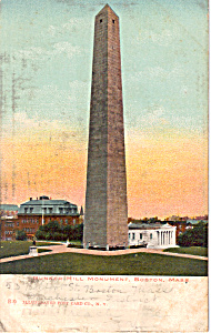 Bunker Hill Monument Boston Massachusetts p23668 (Image1)