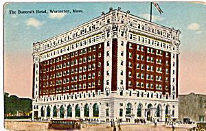 The Bancroft Hotel Worcester Massachusetts p23670 (Image1)