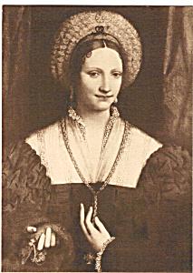 Portrait of a Lady Luini Postcard p23678 (Image1)