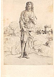 St John the Baptist G Campagnola Postcard p23687 (Image1)