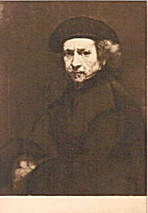 Self-Portrait Rembrandt (Image1)