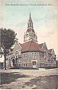 First Methodist Episcopal Church Greenfield  Ohio p23697 (Image1)