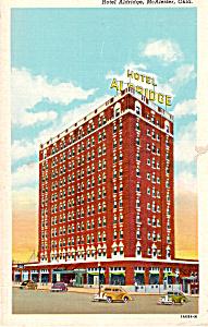 Hotel Aldridge  McAlester   Oklahoma p23709 (Image1)