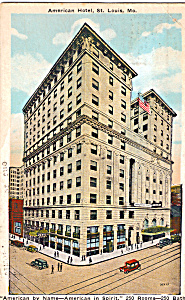American Hotel St Louis Missouri p23715 (Image1)