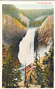 Great Fall of the Yellowstone,Yellowstone National Park (Image1)