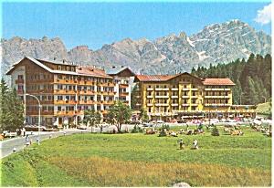 Cortina Italy Pocol Postcard (Image1)