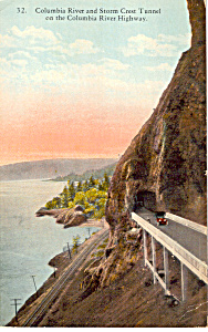 Storm Crest Tunnel, Columbia River Highway (Image1)
