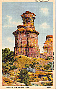 The Lighthouse,Palo Duro Park, Texas (Image1)