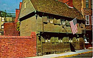 Paul Revere House Boston MA p23857 (Image1)