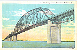 Automobile Bridge Paducah Kentucky P23872