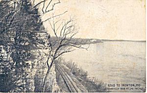Road to Ironton Missouri Iron Mt  MO Pac RR p23873 (Image1)
