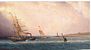 Nantucket by James E Buttersworth Postcard p23881 (Image1)