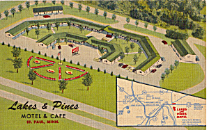 Lakes And Pines Motel And Cafe St Paul Mn P23889
