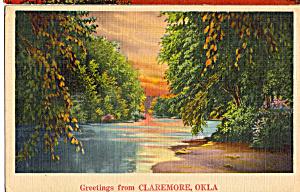 Stream Scene in Claremore,Oklahoma (Image1)