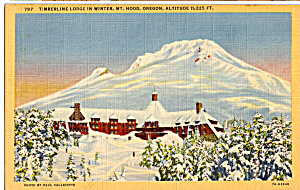 Timberline Lodge. Mt Hood Oregon