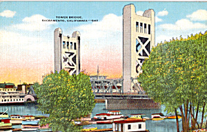 Tower Bridge Sacramento  California p23954 (Image1)