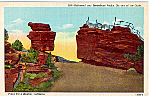 Balanced And Steamboat Rocks Garden Of The Gods P23964