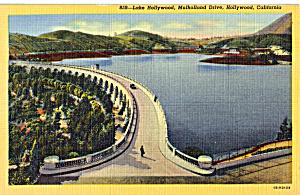Lake Hollywood Mulholland Drive Hollywood California p23981 (Image1)