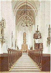 Arhus Domkirke Exterior Denmark Postcard p2400 (Image1)