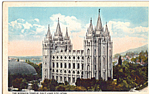 Mormon Temple, Salt Lake City, Utah (Image1)