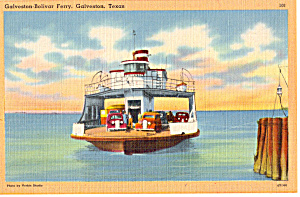 Galveston  Bolivar Ferry  Galveston Texas p24017 (Image1)