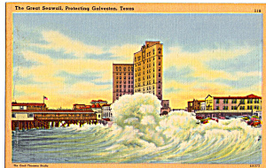 The Great Seawall, Galveston Texas (Image1)