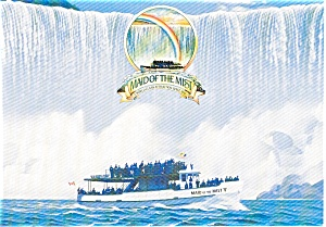 Maid of the MIst Boat Tour Postcard p2404 (Image1)