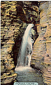 Entrance Cascade,Watkins Glen,New York (Image1)