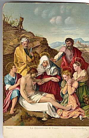 La deposizione di Croce, Andrea del Sarto (Image1)