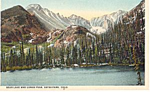 Bear Lake and Longs Peak,Estes Park Colorado p24117 (Image1)