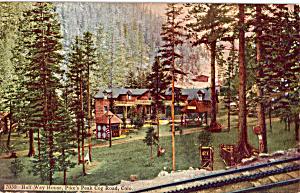 Halfway House Pikes Peak Cog Railway Colorado p24120 (Image1)
