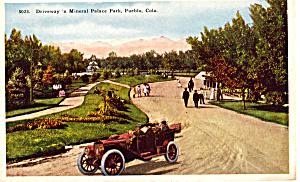 Mineral Palace Park Pueblo Colorado p24121 Vintage Car (Image1)