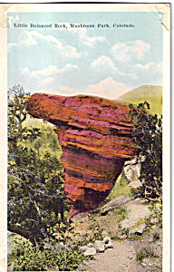 Little Balanced Rock, Mushroom Park, Colorado (Image1)