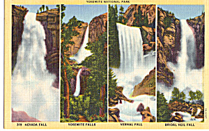 Falls of Yosemite National Park CA p24159 (Image1)