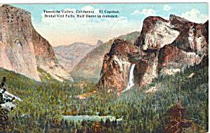 El Capitan Half Dome Yosemite National Park CA p24160 (Image1)