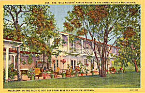 Will Roger's Ranch House, Santa Monica (Image1)