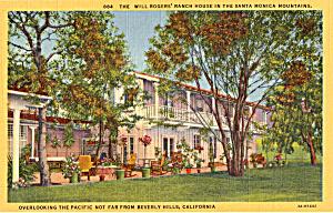 Will Roger s Ranch House Santa Monica CA p24165 (Image1)