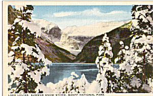Lake Louise,Summer Snow,Banff National Park, (Image1)
