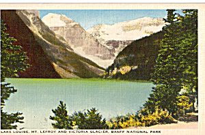 Lake Louise,Mt Lefroy,Banff National Park, (Image1)