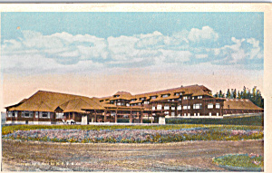 Canyon Hotel, Yellowstone National Park