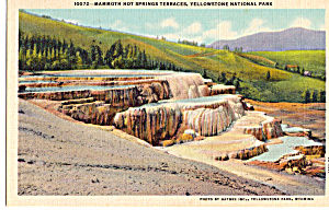 Mammoth Hot Springs Terraces, Yellowstone National Park (Image1)